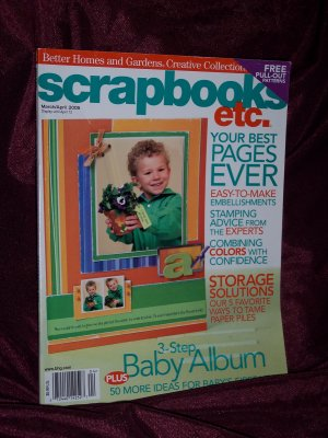 Scrapbooks Etc. March/April 2005  from Better Homes & Gardens Creative Collection