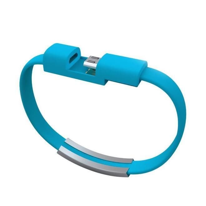 Smart Bracelet Wristband USB Charger Data Sync Cable For Iphone 6 6 Plus 5s 5c