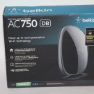 Brand New Belkin AC750 Wi-Fi Dual-Band AC Router -F9K1116 - Sealed