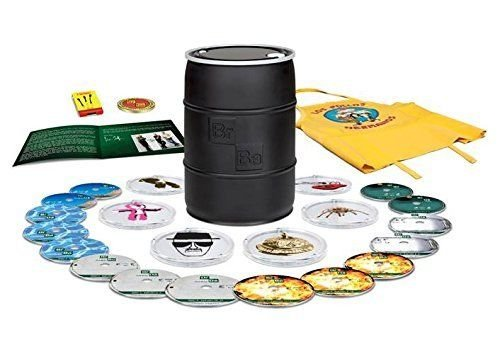 Breaking Bad: The Complete Series 2014 Barrel Blue Ray Brand New