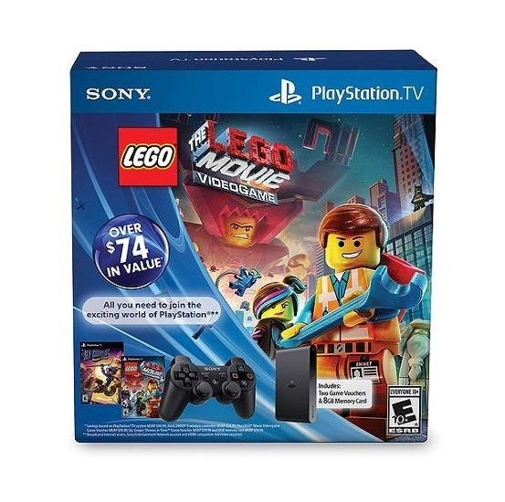 PlayStation TV Limited Edition Bundle with Lego Movie and Sly Cooper Thieves