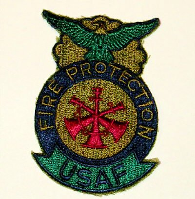 USAF Assistant Fire Chief Patch