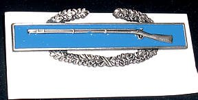 Combat Infantry Badge, 1st award, mint condition