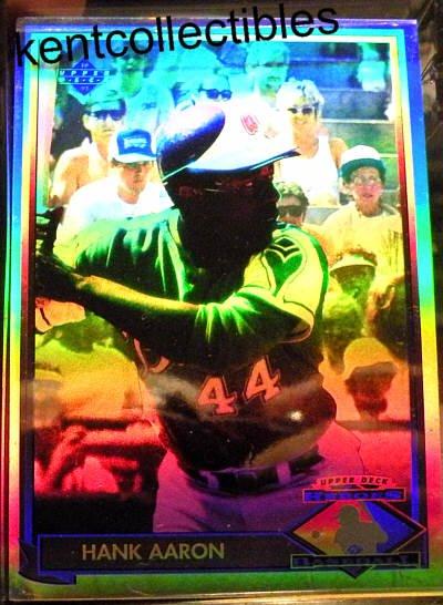 Henry Aaron Hologram Card Upper Deck 1991 HH1