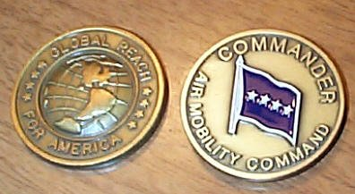 Air Mobility Command Challenge Coin - Kent Collectibles - FS