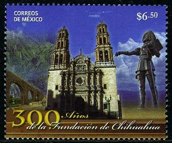 Mexico Chihuahua 300th Anniversary, new issue set of 1 stamp, mnh