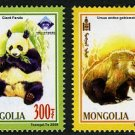 World Stamp Expo, Mongolia 2009, pair of se-tenant stamps, mnh