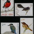 Bush Birds, Norfolk Island 2009 set of 4 stamps, mnh