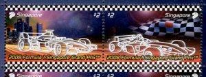 Singapore 2008 Formula 1 Grand Prix Racing setenant pair
