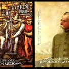 Mexican Revolution, set of 2 souvenir sheets, mnh
