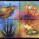 Shores & Reefs Singapore 2007 MNH set of 4 stamps