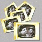 The Honeymooners, 5 TV Memories Postcards, mint