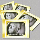 Alfred Hitchcock Presents, 5 TV Memories Postcards, mint