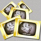 Howdy Doody, 5 TV Memories Postcards, mint