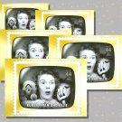 Kukla, Fran and Ollie, 5 TV Memories Postcards, mint