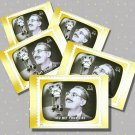 You Bet Your Life, with Groucho Marx, 5 TV Memories Postcards, mint
