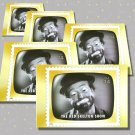 The Red Skelton Show, 5 TV Memories Postcards, mint