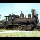 Louisiana Cypress Lumber Company steam locomotive, Railroad postcard