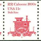 PNC5, Caboose 11-cent, plate #2, mnh