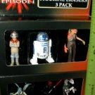 Star Wars Episode 1 Figurine Erasers, set of 6, NIP