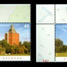 Lighthouses, Germany 2010 set of 2 stamps, mnh