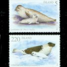 Iceland 2010 Seals Set of 2 Stamps MNH