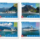 Switzerland Ships Pro Patria 2011 Semi-postal set of 4 mnh