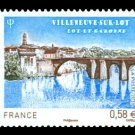 Bridge Villeneuve, France set of 1 stamp, mnh