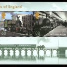Great Britain Classic Locomotives Souvenir Sheet