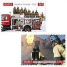 Fire & Rescue, 2011 Norway 150th Anniversary set of 2 stamps, mnh