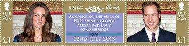 Birth of HRH Prince George Alexander Louis Isle of Man