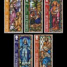 Christmas 1997 Set of 5 mnh stamps Gibraltar