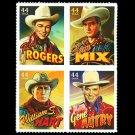 USA Singing Cowboys setenant block of 4, mnh