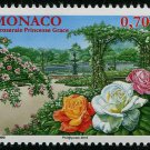 Princess Grace Rose Garden mnh stamp 2016 Monaco