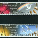 Peace and Freedom Europa issue 1995 set of 2 pairs of mnh stamps Gibraltar