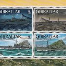 World War II Warships Souvenir Sheet mnh Gibraltar 1996