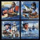 Maritime Heritage set of 4 mnh stamps 1999 Gibraltar
