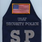 U.S. Air Force Security Police Brassard w/flag arm band