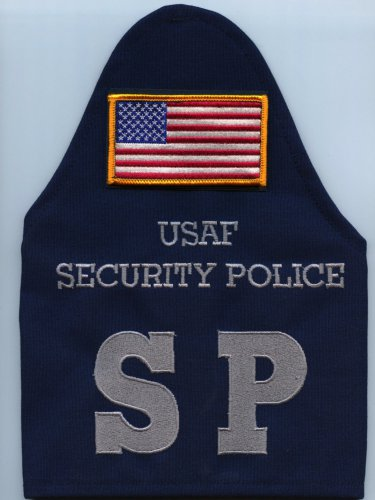 U.S. Air Force Security Police Brassard w/flag arm band