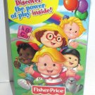 2000 Fisher-Price Little People, Big Discoveries Volume 1 VHS, English subtitles