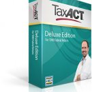 2013 TaxAct Deluxe Advanced Import, Help & Tools Includes State.