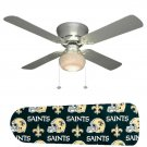 New Orleans Saints Ceiling Fan w/Light Kit or Blades Only or Ceiling Lamp