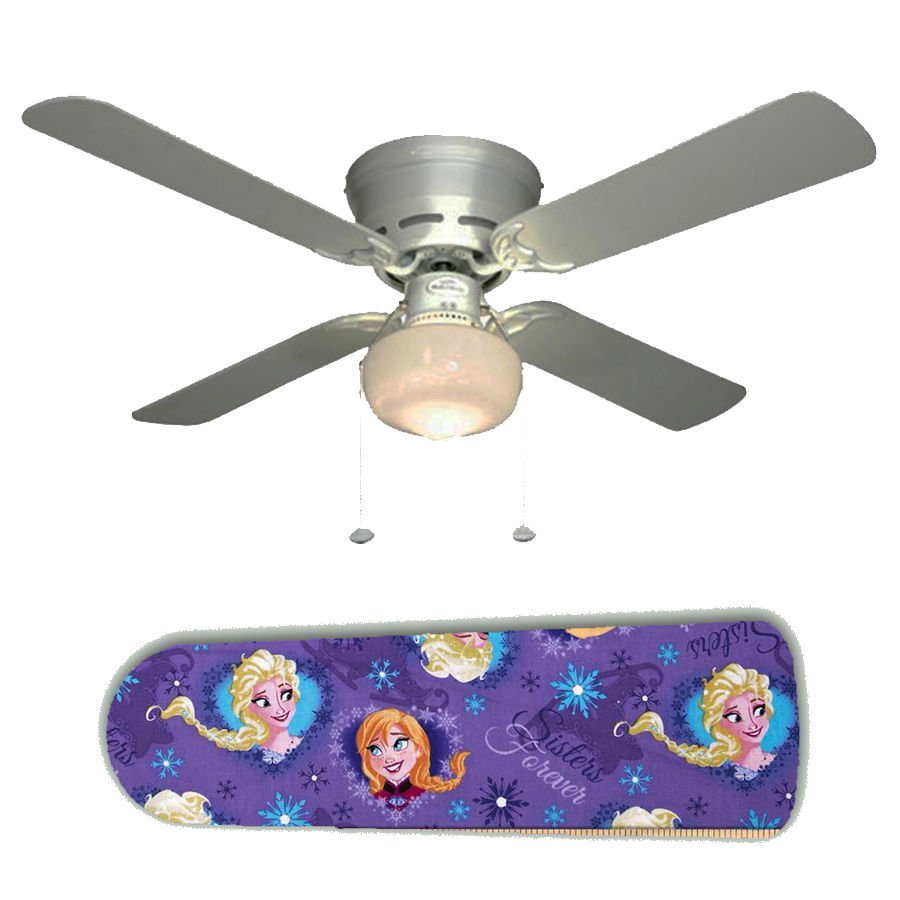 Frozen Anna and Elsa Ceiling Fan w/Light Kit or Blades Only or Ceiling Lamp