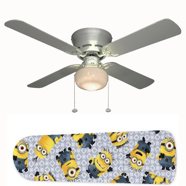 Minions Ceiling Fan w/Light Kit or Blades Only or Ceiling Lamp