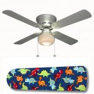 Dinosaur Delight Ceiling Fan w/Light Kit or Blades Only or Ceiling Lamp