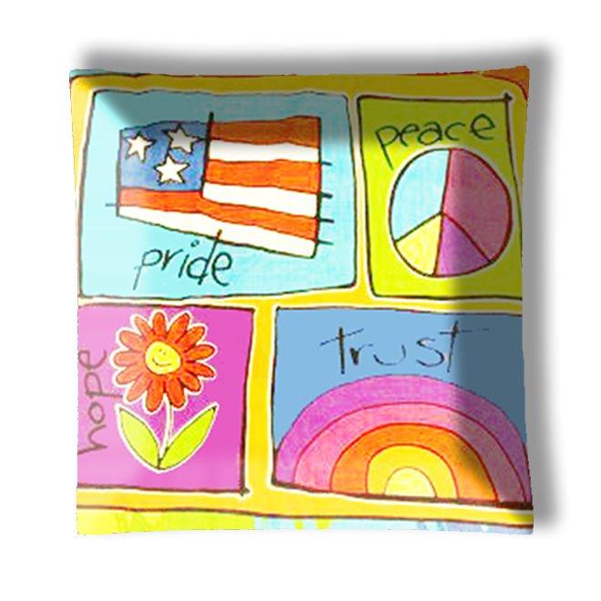 Kids Pride Peace Hope Trust Ceiling Light / Lamp