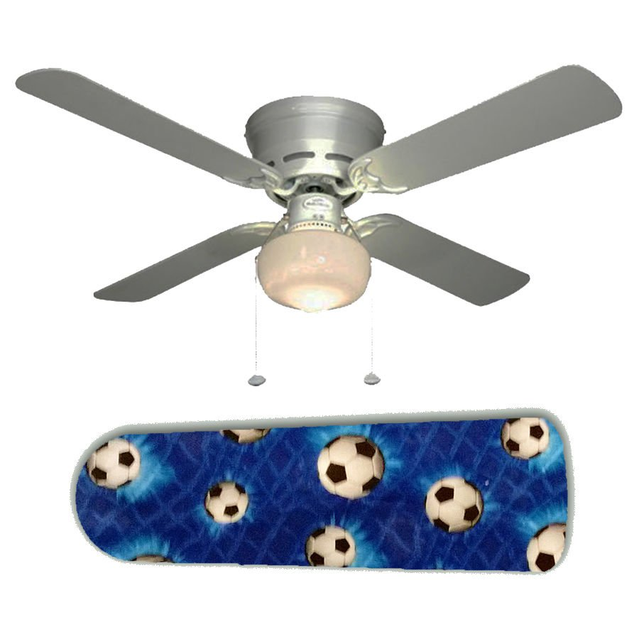 Soccer Ceiling Fan w/Light Kit or Blades Only or Ceiling Lamp