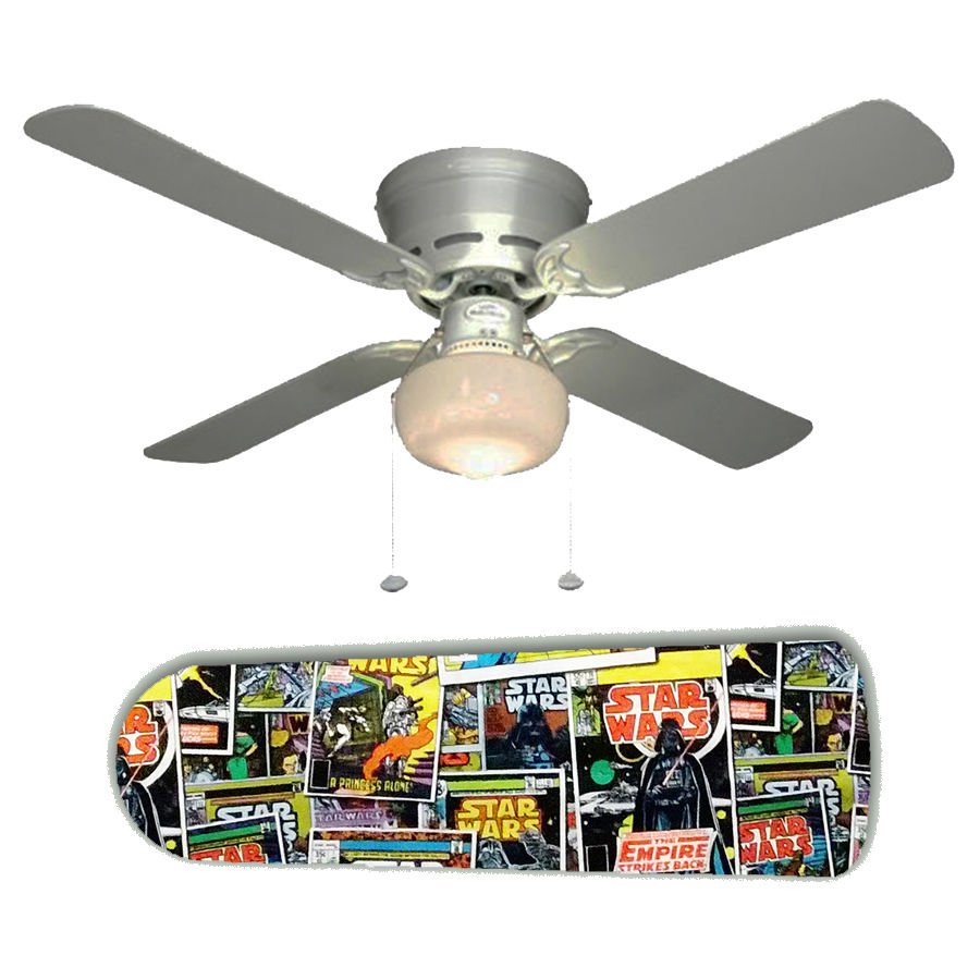 Star Wars Comic Book  Ceiling Fan w/Light Kit or Blades Only or Ceiling Lamp
