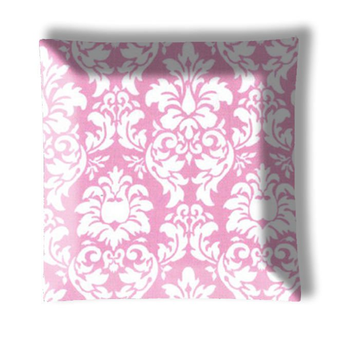Pink Damask Ceiling Lamp or Ceiling Fan w/Light Kit or Blades Only