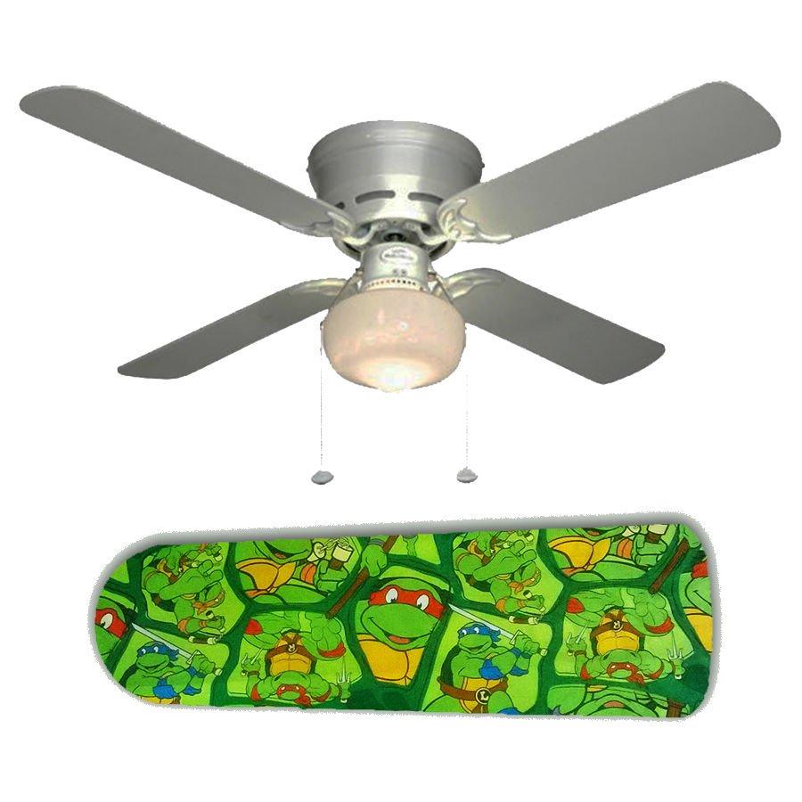 TMNT Teenage Mutant Ninja Turtles Ceiling Fan w/Light Kit or Blades Only